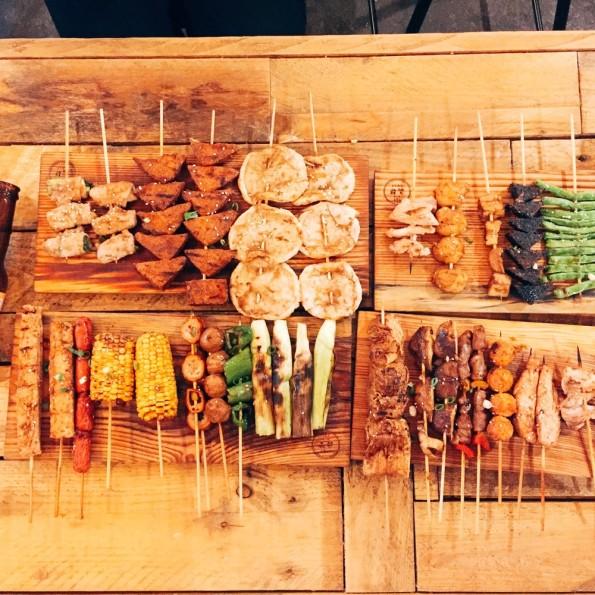 宜蘭美食─品都 串燒酒場