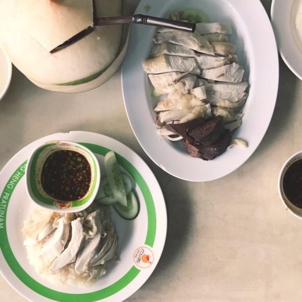 曼谷必吃美食-海南雞飯