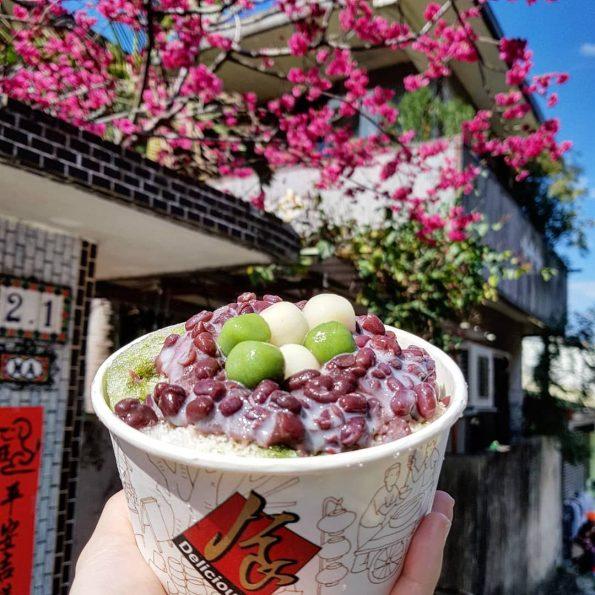 苗栗美食-南庄日式抹茶紅豆冰