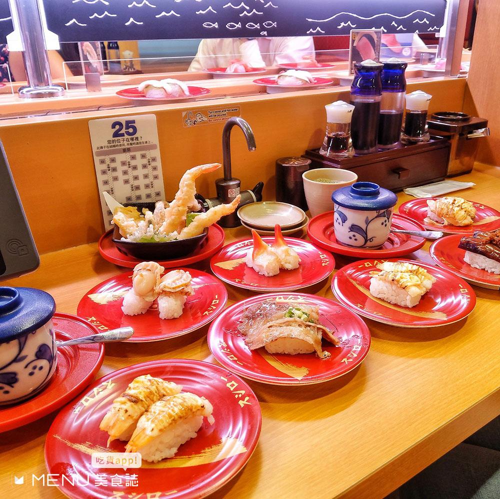 日本名店來台!盤點6家進軍台灣的迴轉壽司,各有各的特色,你最愛哪一家?