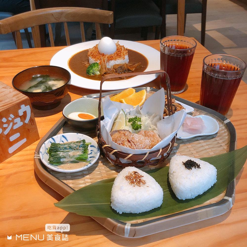 日式料理大集合!丼飯、壽司、定食、咖喱飯,最後再吃個冰完美Ending!