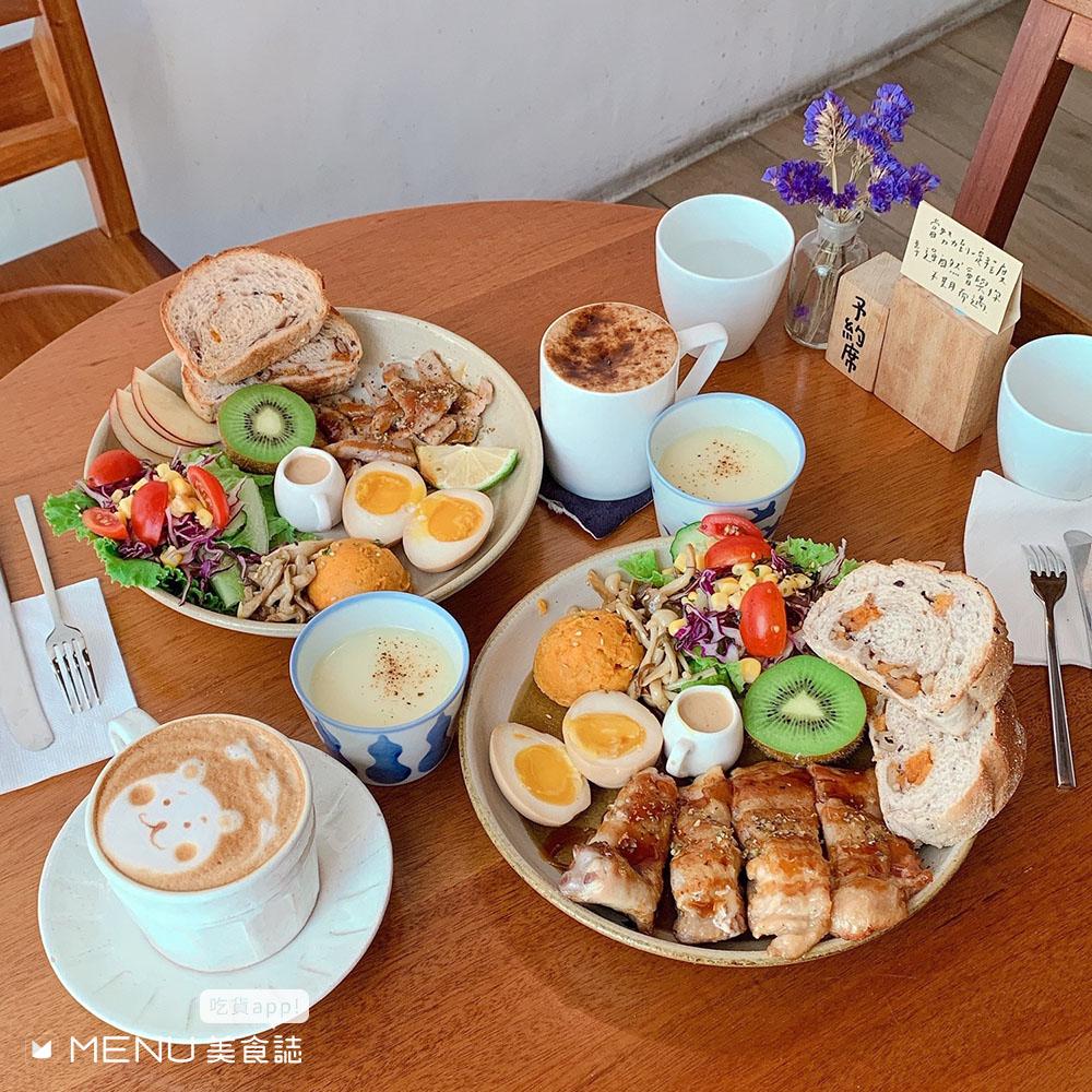 今天天氣好,我們來吃早午餐吧!又美又豐盛,台中早午餐TOP 10打卡點